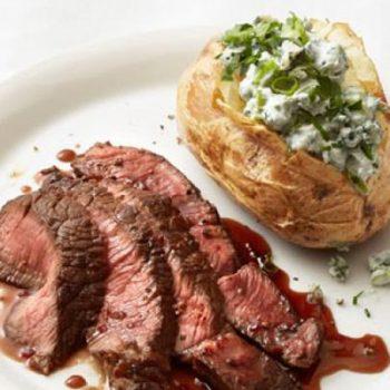 Steak & Cheese Potatoes