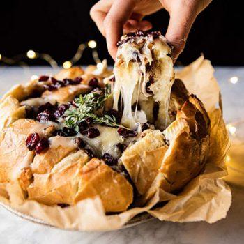 Cranberry Brie Bread