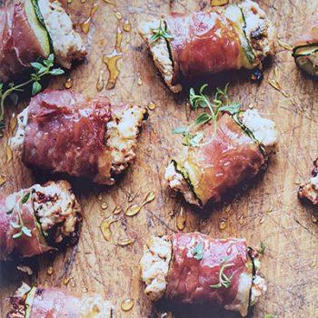 Prosciutto Zucchini Bites