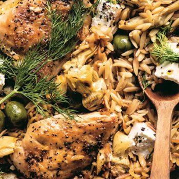 White Wine-Braised Chicken