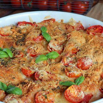 Summer Tomato Casserole