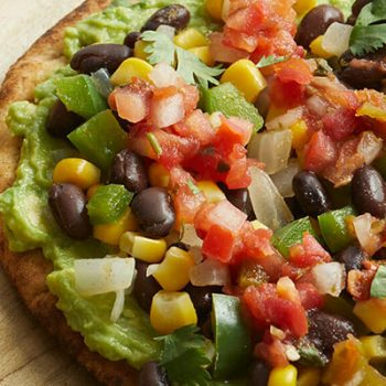 Tex-Mex Pita Pizzas